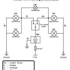 Electronic Flasher Unit Wiring Diagram Bmw E90 For Car Best Library Led Turn Signal On Relay