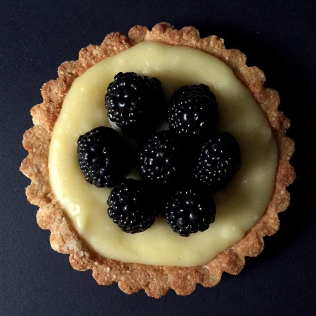 Blackberry Lemon Tart (GF, DF, SF)