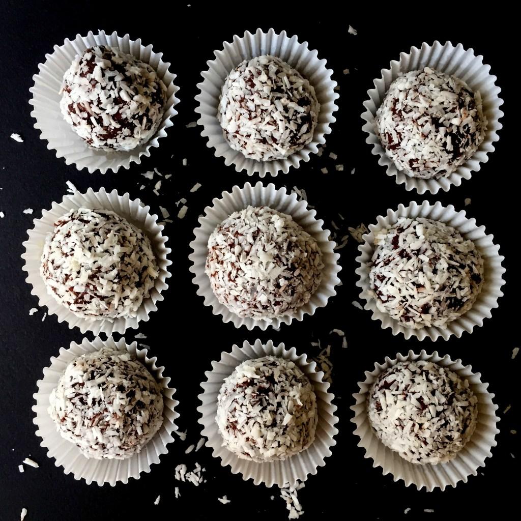 Coconut Chocolate Truffle (DF, SF)