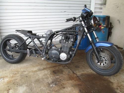 small resolution of 1986 kawasaki kz1000p mad max drag bike build
