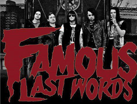 Q and A with Famous Last Words 2