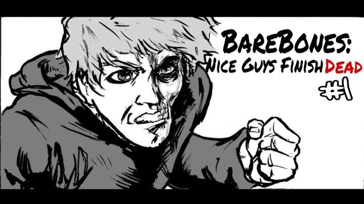 BareBones Ent's Debut Comic Book Live on Kickstarter Now!