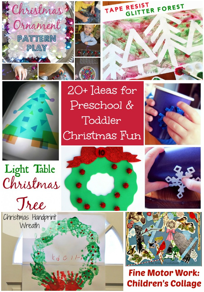 20 ideas for preschool