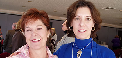 photo of Kathy Lovin and Melanie Rubin