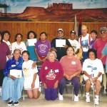 Navajo Elders - just got certified as Community Fitness Leaders