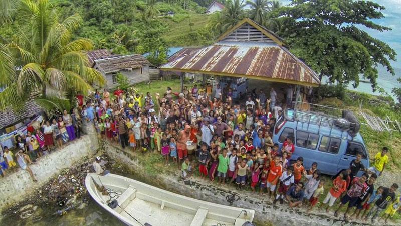 Remote Island Village