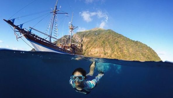 Phinisi Yacht Snorkeling