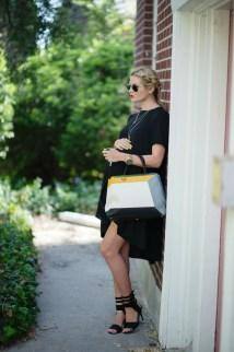 Black Tent - Barefoot Blonde Amber Fillerup Clark