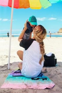 Blonde Barefoot Beach