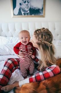 Christmas Jammies - Barefoot Blonde Amber Fillerup Clark