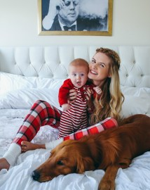 Cute Christmas Pictures Mom and Baby