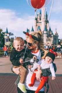 Barefoot at Disney World