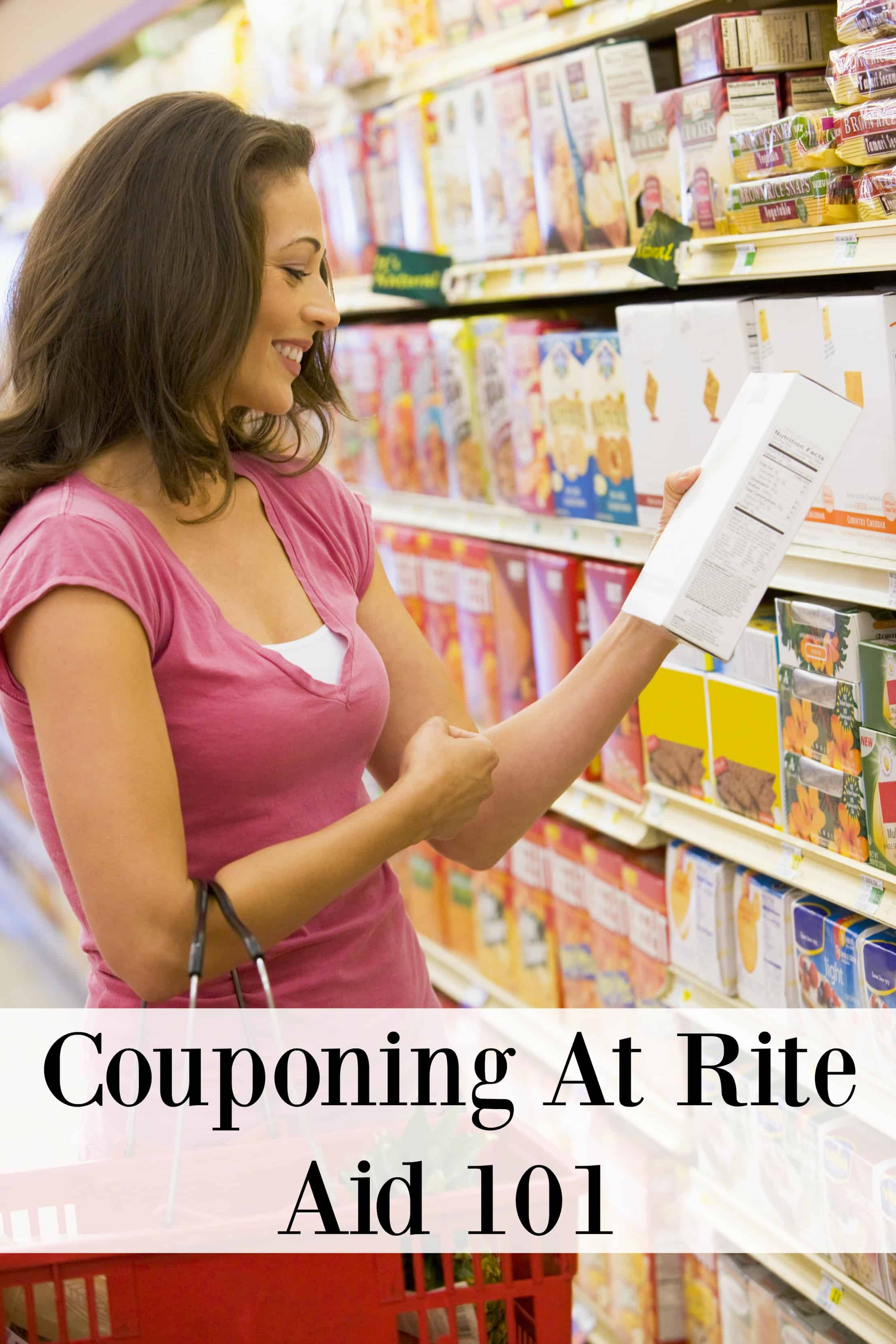 couponing at rite aid 101 and plenti points barefoot budgeting