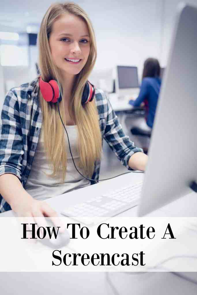 Learn how to create a screencast for your business or ecourse with this simple video tutorial and tips!