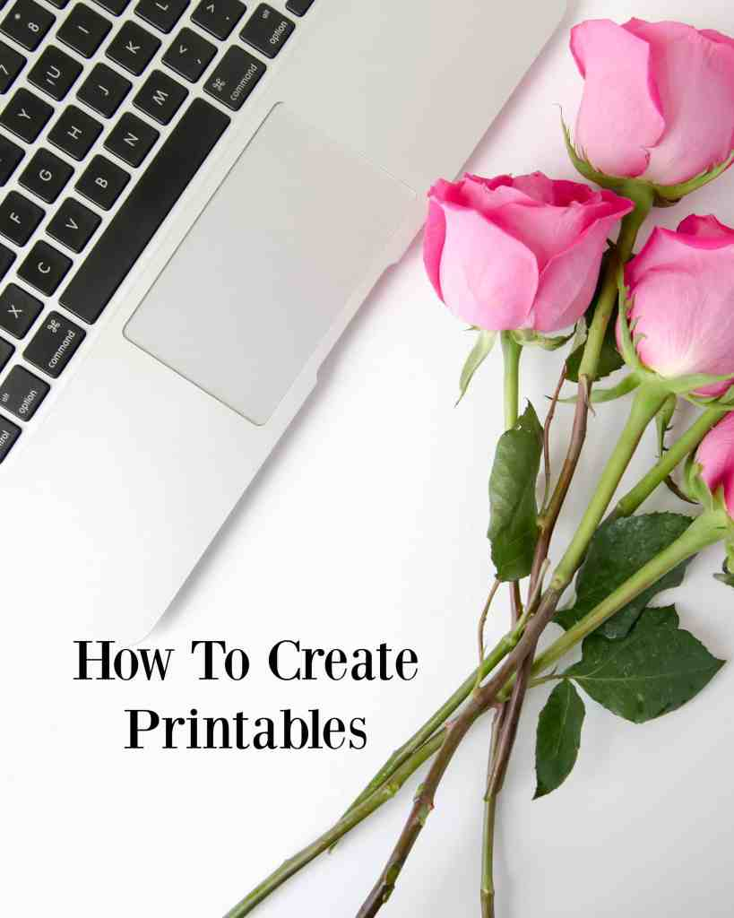 How To Create Printables - whether you want them for decor or to sell your printables online, learn how to make printables in this easy tutorial!