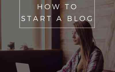 The Ultimate Guide For How To Start A Blog