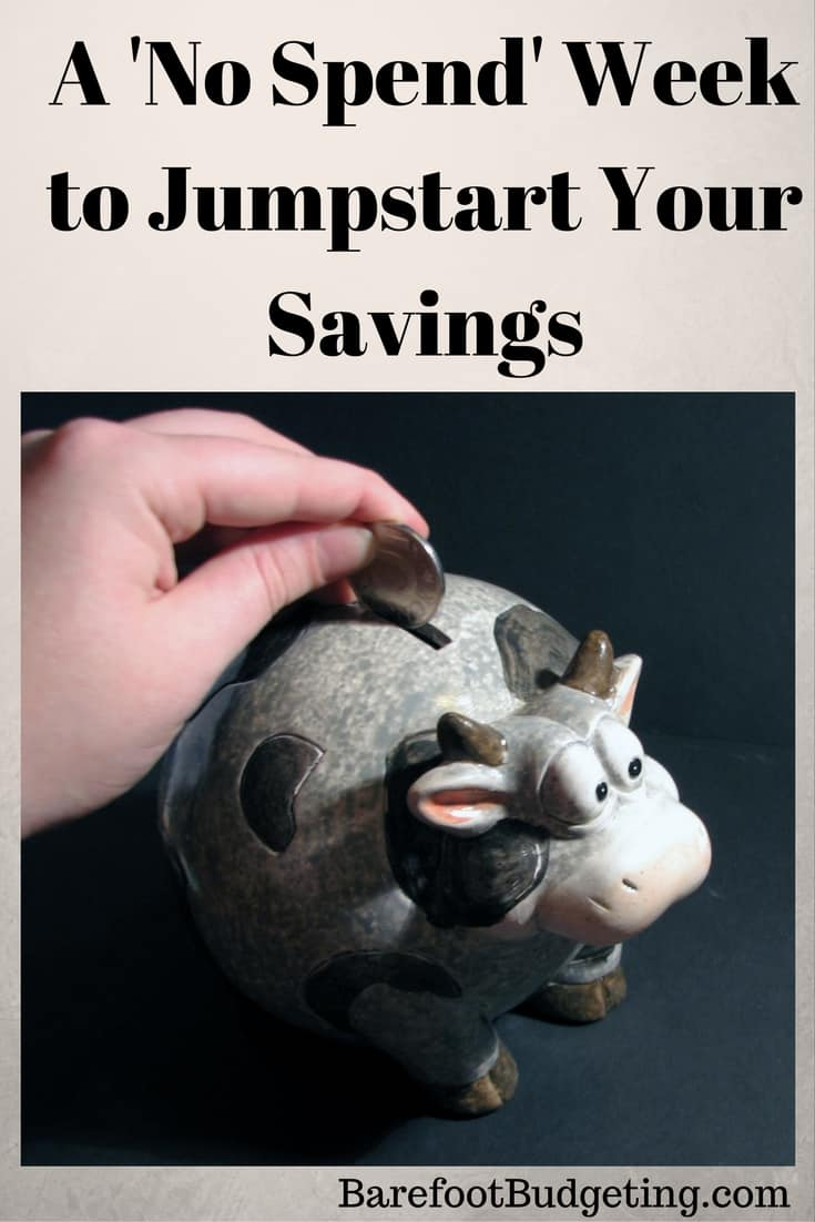 Jumpstart Your Savings With a No Spend Week