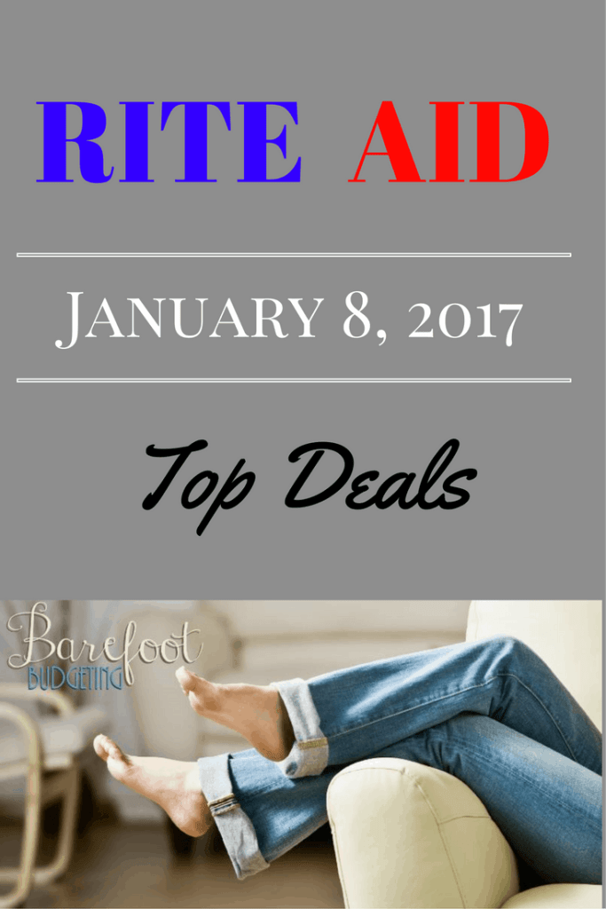 rite aid coupon matchup 1/8/17 top deals
