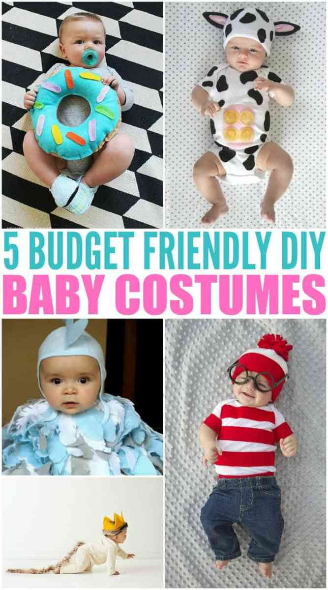 5 Budget Friendly Homemade Baby Halloween Costumes