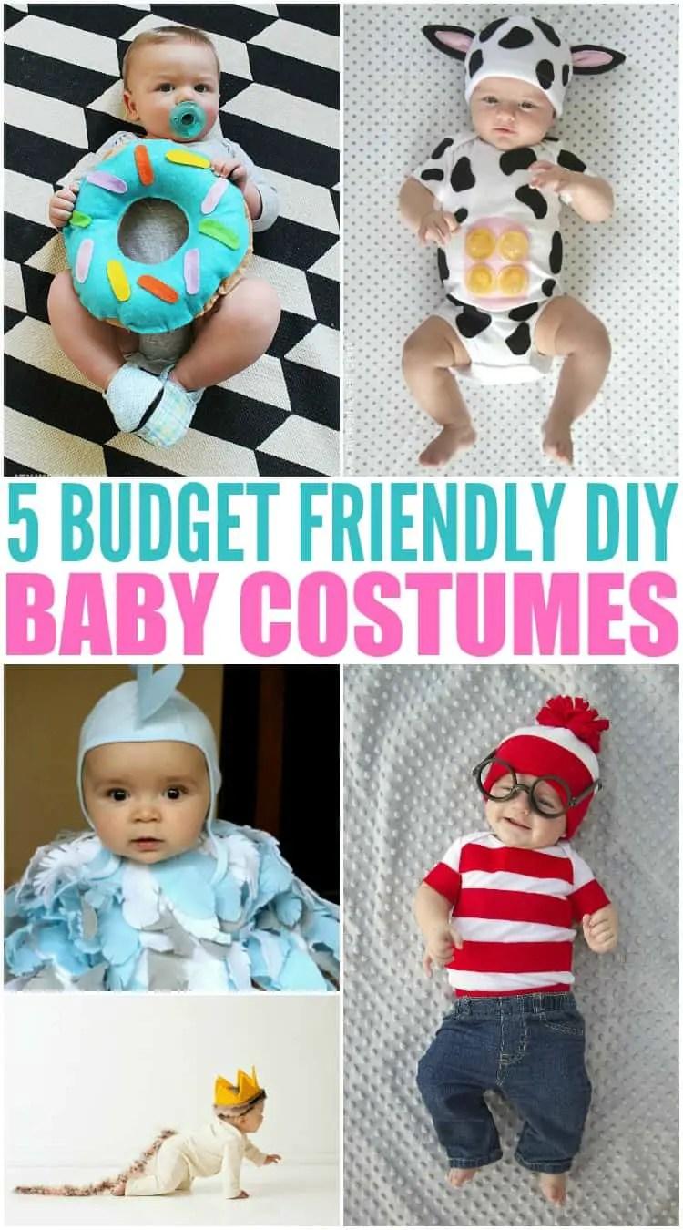 Budget Friendly Diy Home Decorating Ideas Tutorials 2017: 5 Budget Friendly Homemade / DIY Baby Halloween Costumes