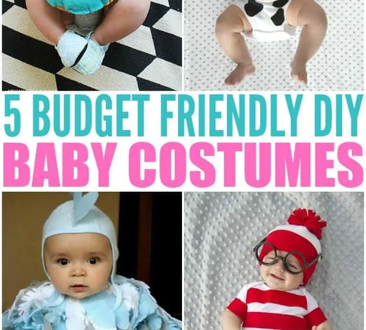 5 Budget Friendly Homemade Baby Halloween Costumes