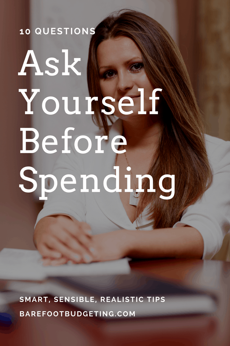 money smart questions before spending