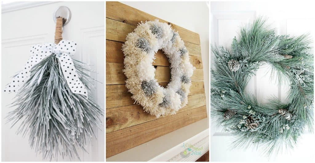 Budget friendly diy winter wonderland wreaths barefoot budgeting diy winter wreaths you can have in any part of the country indoor or outdoor to celebrate natures beauty in our shortest days and coldest nights solutioingenieria Images