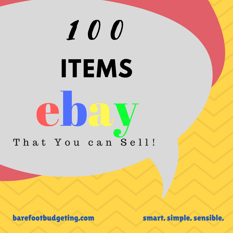100 Things You Can Sell On Ebay!