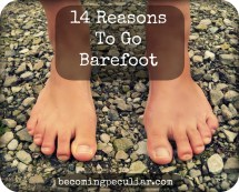 14 Reasons to Go Barefoot