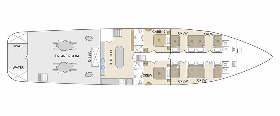 Odyssey lower-deck
