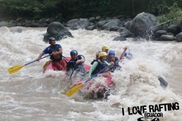 Rafting Toachi and Blanco Rivers