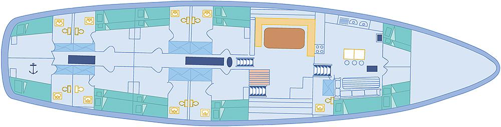 Beagle Deck plan