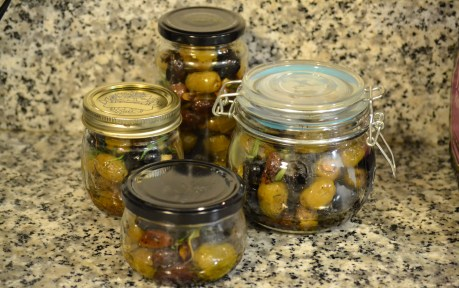 Roasted Olives