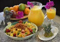 Julie's Mango Sunset Cocktail