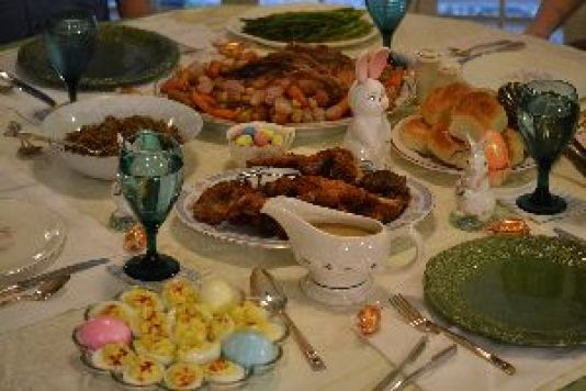 our Easter dinner 2016_small