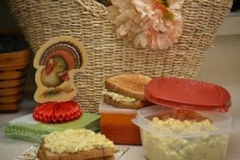 taking turkey salad with us_small