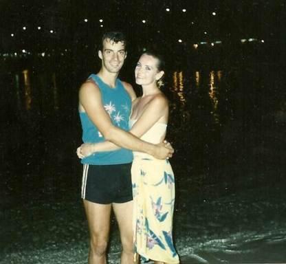 Gordon and Julie Waikiki Beach 1986