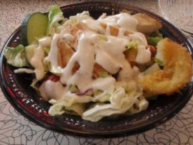 My salad with chicken_small
