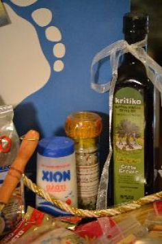 Greek sea salt and olive oil_small