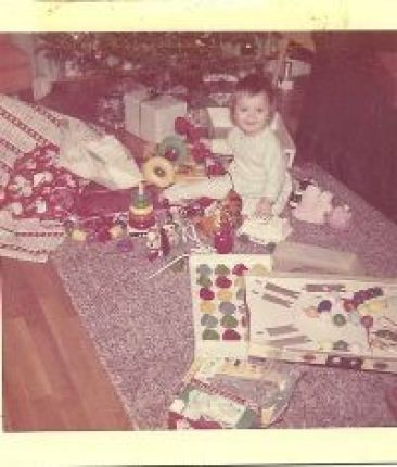 Julie Christmas Morning age 10 months_small