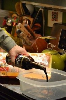 Gordon preparing the marinade_small