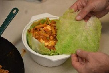 now top with another blanched cabbage leaf_small