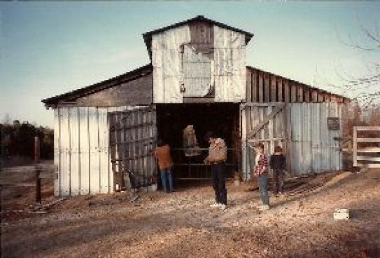 our old barn in Rockingham_small