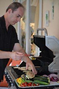 Gordon grilling on the lanai_small