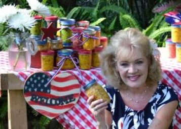 Julie with her Corn Relish_small