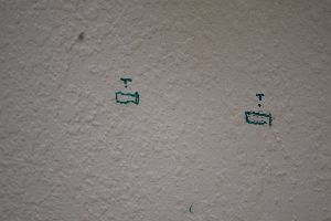 the marks on the wall for the drill_small