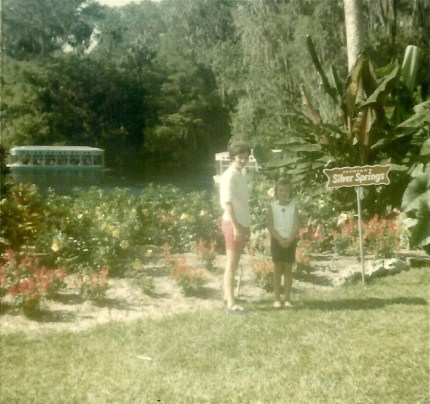 Mary Keith and Julie Silver Springs Florida 1967