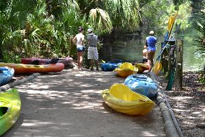 the boat rental at Silver Springs_small