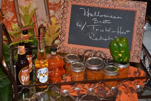 Trick or Heat Halloween Relish
