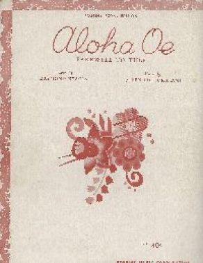 Aloha Oe Music Front_small